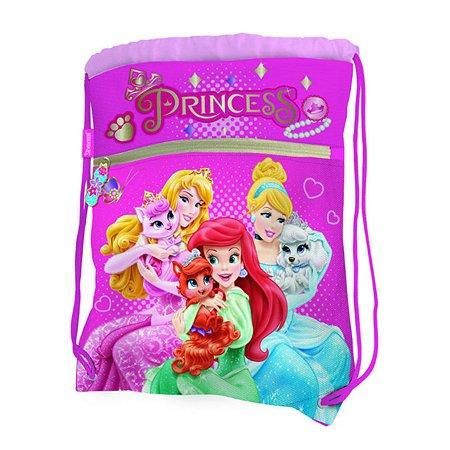 Сумка-рюкзак Kinderline для обуви Princess (розовый)