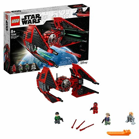 Конструктор LEGO Star Wars Истребитель СИД майора Вонрега 75240