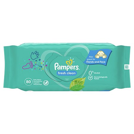 Cалфетки влажные Pampers Fresh Clean Value 80шт