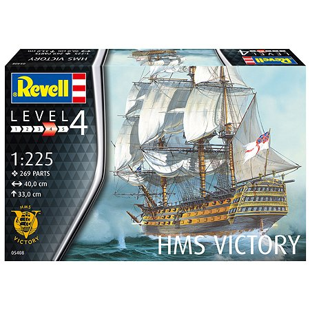Модель для сборки Revell Парусник H.M.S.VICTORY 1:225