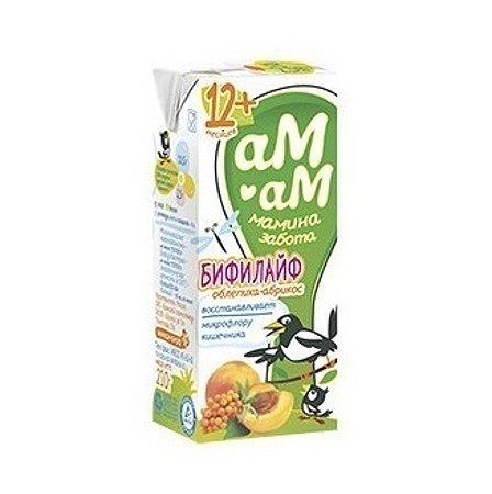 Бифилайф Ам-Ам облепиха-абрикос 2.5% 0.21л с 12месяцев
