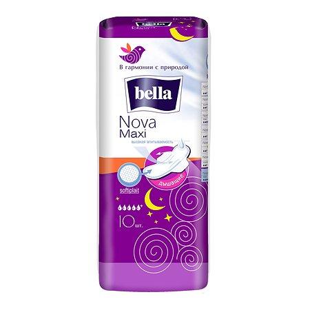 Прокладки гигиенические Bella Nova Maxi 10шт