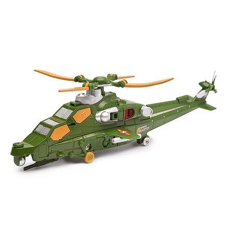 Робот 2 в1 Devik Toys Военный вертолет