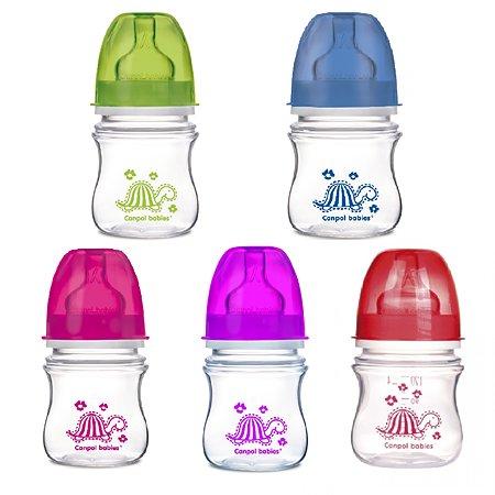 Бутылочка Canpol Babies Easy start в ассортименте