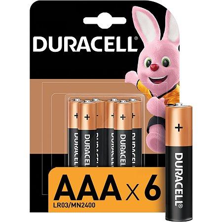 Батарейки Duracell Basic ААA/LR03 6шт