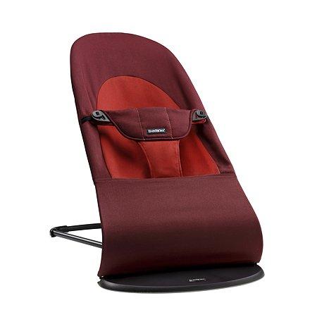 Кресло-шезлонг BabyBjorn Balance Soft Терракотовый-Оранжевый 50.24