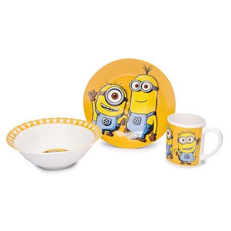 Набор посуды STOR Minions Orange 3 предмета suv-000888