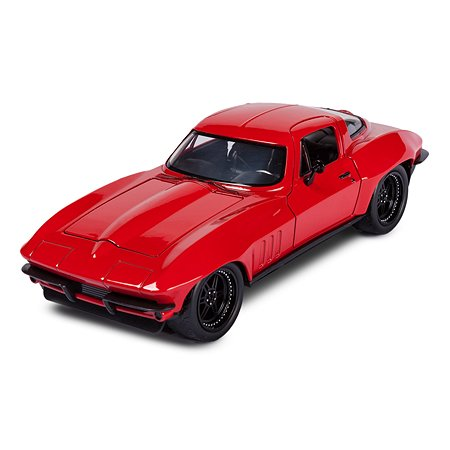 Машинка Fast and Furious Форсаж-8 1:24 1966 Chevy Corvette