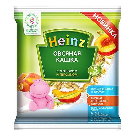 Каша Heinz молочная овсяная с персиком Сашет 30г с 5 месяцев