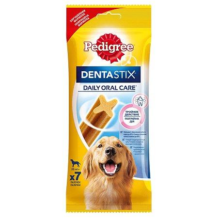 Лакомство для собак Pedigree Dentastix для крупных пород 270г
