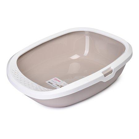 Туалет для кошек Savic Gizmo со съемным бортом Мокка
