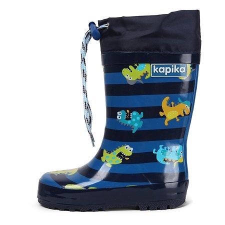 Резиновые сапоги Kapika синие