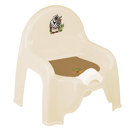 Горшок-стульчик IDEA Совы М 2596