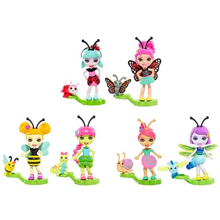 Мини куклы Enchantimals Petal Park 2шт в ассортименте FXM86
