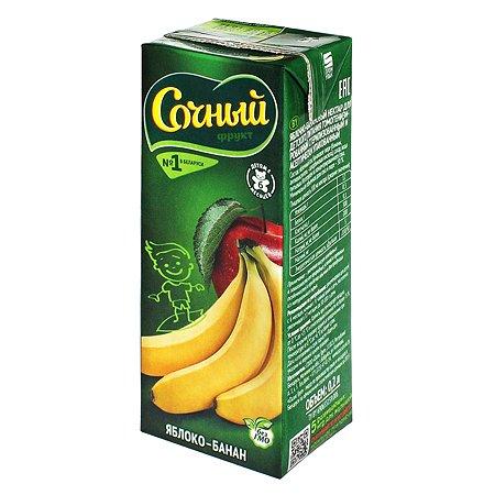 Нектар Сочный фрукт яблоко-банан 200мл с 6месяцев