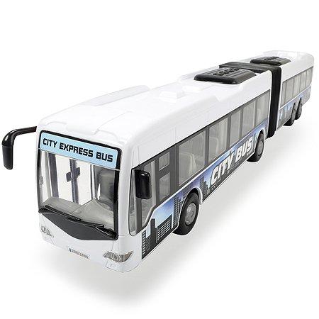 Автобус Dickie Городской фрикционный белый 1:43 3748001-1