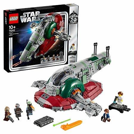 Конструктор LEGO Star Wars Раб I выпуск к 20-летнему юбилею 75243