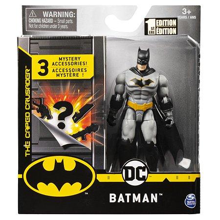 Фигурка Batman в сером костюме в непрозрачной упаковке (Сюрприз) 6056742