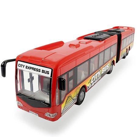 Автобус Dickie Городской фрикционный красный 1:43 3748001-2