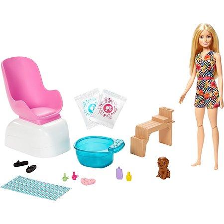 Набор игровой Barbie для маникюра и педикюра GHN07