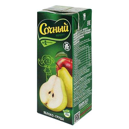 Нектар Сочный фрукт яблоко-груша 200мл с 4месяцев