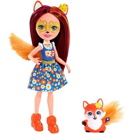 Набор Enchantimals кукла Фелисити Лис и Флик FXM71