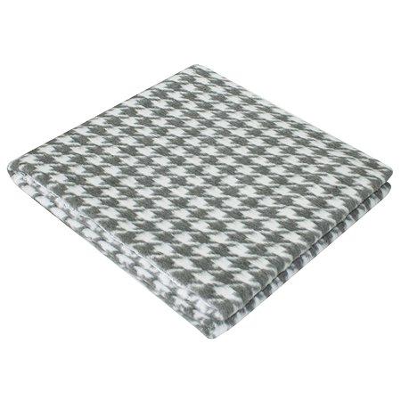 Одеяло байковое Babyton Лапки Серое 57-5ЕТОЖ