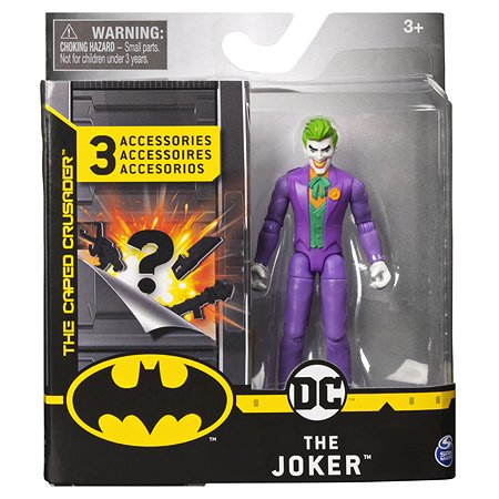 Фигурка Batman Джокер в непрозрачной упаковке (Сюрприз) 6056747