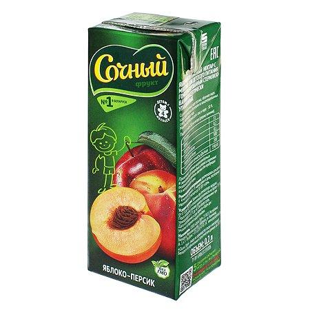 Нектар Сочный фрукт яблоко-персик 200мл с 4месяцев