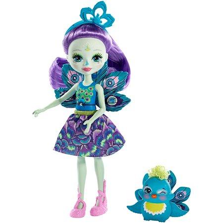 Набор Enchantimals кукла Пэттер Павлина и Флэп в ассортименте FXM74