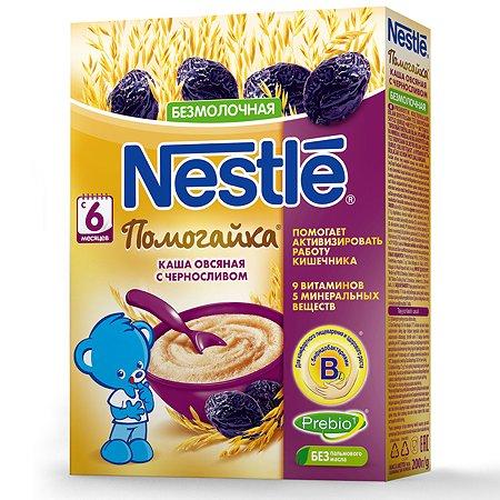 Каша Nestle Помогайка овес-чернослив 200г с 6месяцев