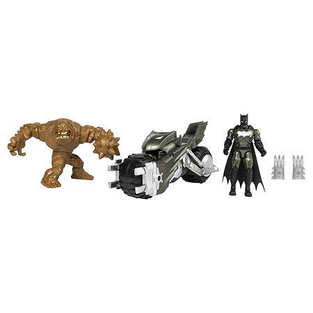 Игрушка Batman Бетцикл +2 фигурки 6055934