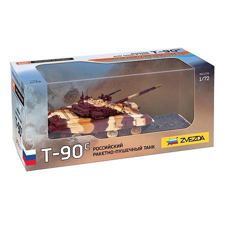 Танк Звезда Российский ракетнопушечный  Т-90с