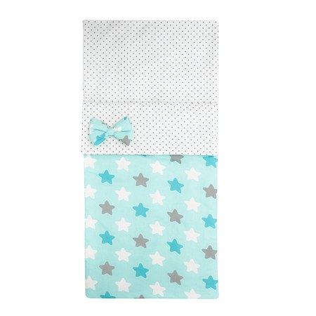 Одеяло-спальный мешок Amarobaby Strong dreams Звездочка Голубой