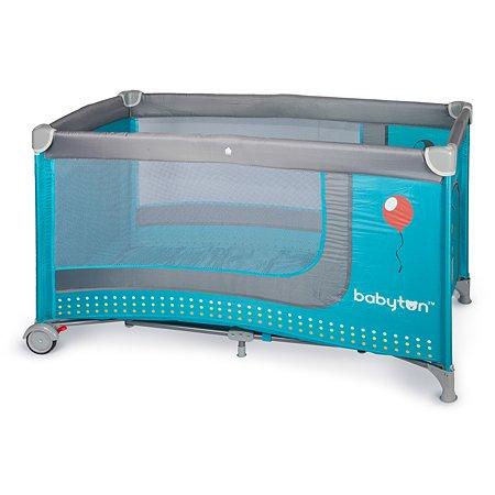 Кровать-манеж Babyton цв. Blue