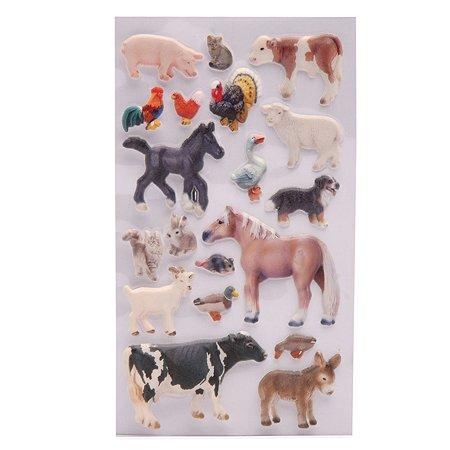 Наклейки многоразовые Липляндия Домашние животные