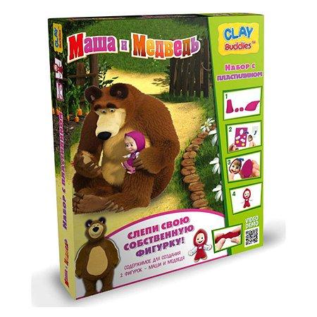 Набор для лепки Clay Buddies Маша и медведь