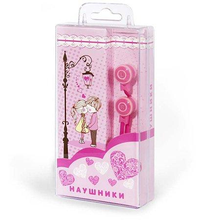 Наушники Mobile Любовь (розовые)