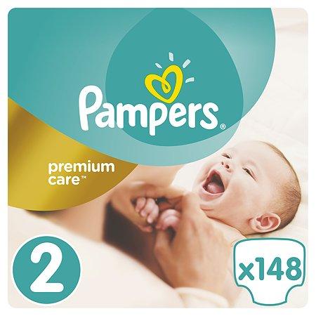 Подгузники Pampers Premium care 3-6кг 148шт