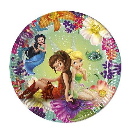 Тарелки PROCOS Волшебные феи 20 см 8 шт