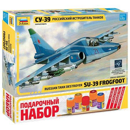 Подарочный набор Звезда Самолет СУ-39