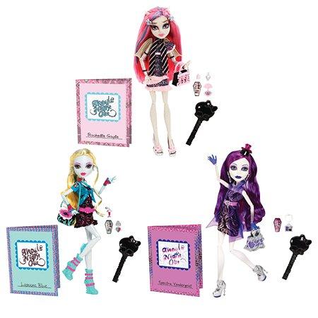 Куклы Monster High Monster High  Монстростическая ночка в ассортименте