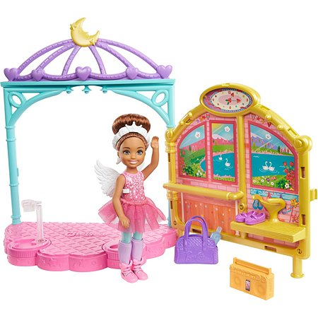 Набор игровой Barbie Семья Челси Балерина GHV81