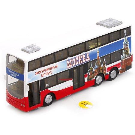 Автобус Технопарк 16 см  (свет/звук)