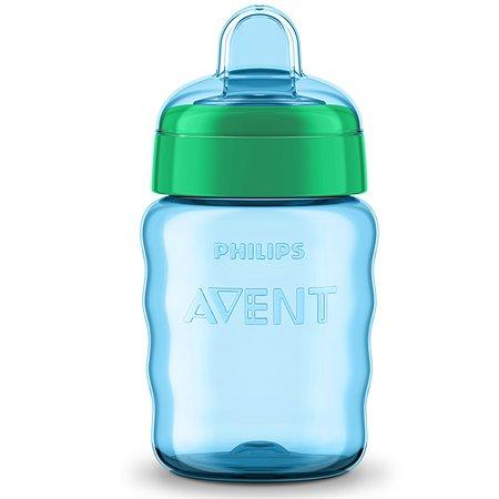Чашка с носиком Philips Avent Comfort 260 мл 12 м+ Голубая+зелёная