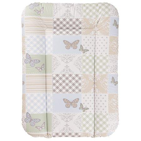Матрас Geuther беспружинный Кремовый с бабочками