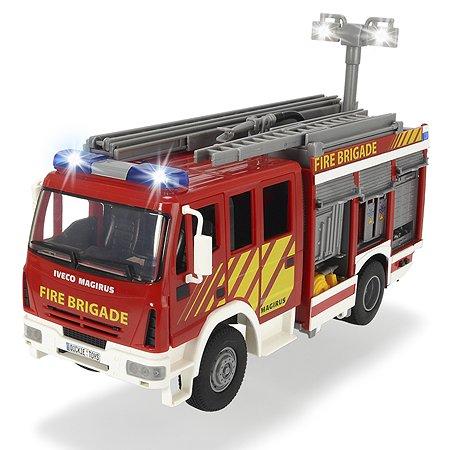 Пожарная машина Dickie с водой 30 см со светом и звуком, свободный ход 3717002