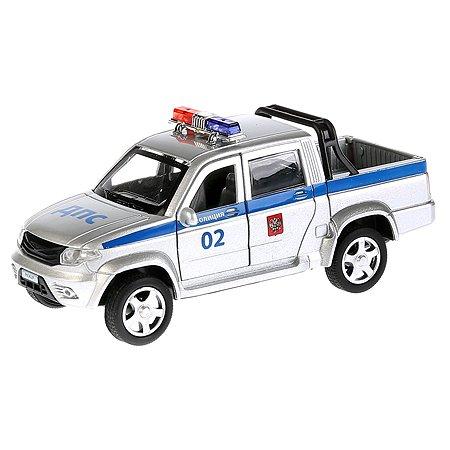 Машина Технопарк UAZ Pickup Полиция инерционная 259366