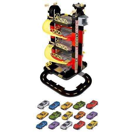 Набор игровой HTI (Teamsterz) Гараж-башня 5уровней с 15машинками 1416467.00