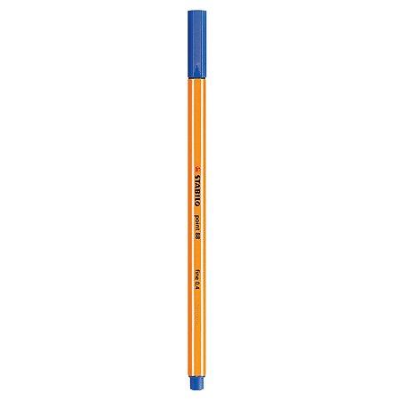 Ручка капилярная STABILO Point Синий 88/41-B